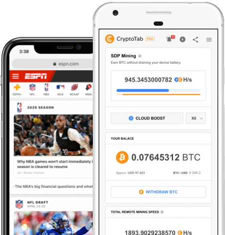 Download Cryptotab Browser to get free Bitcoins
